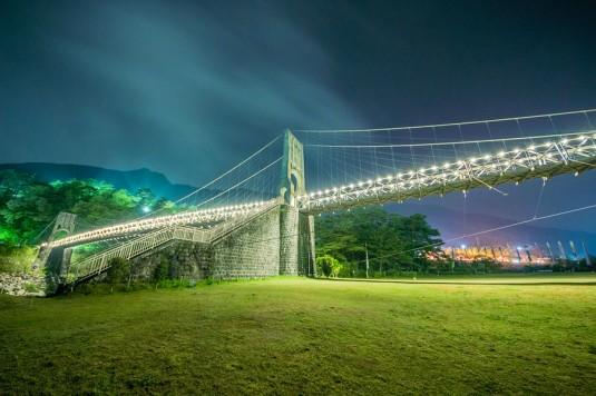 桃介橋(長野県南木曽)