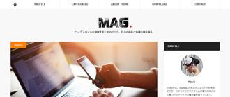 WordPressテーマ「MAG (tcd036)」