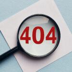 WordPressで404エラーが表示される原因と対策