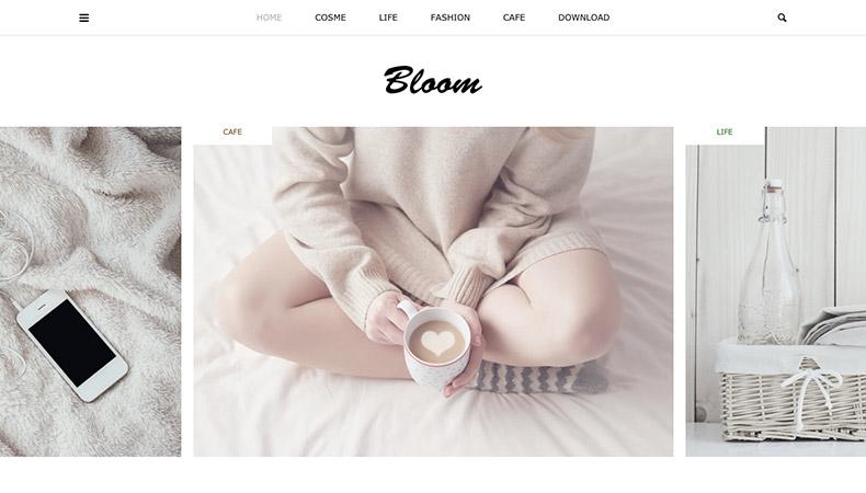 WordPress Theme Bloom