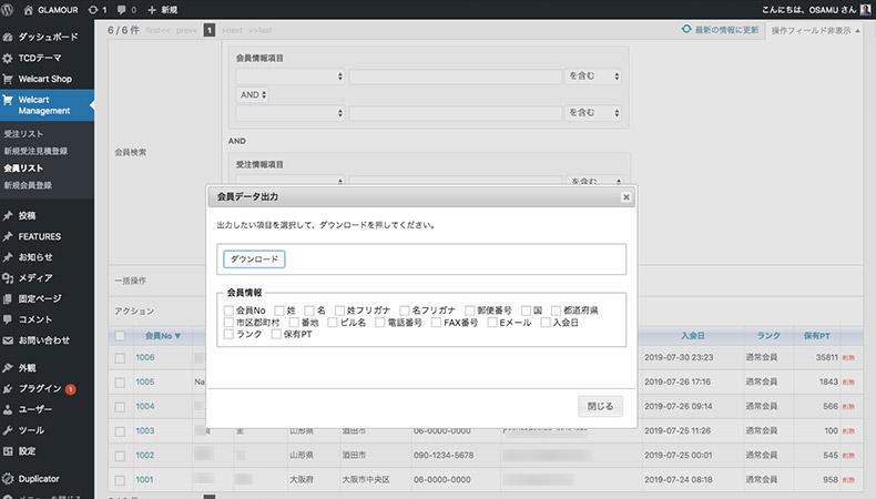 WordPress Theme GLAMOUR