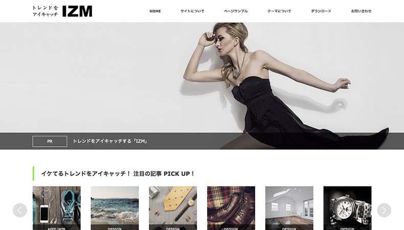 WordPress Theme IZM