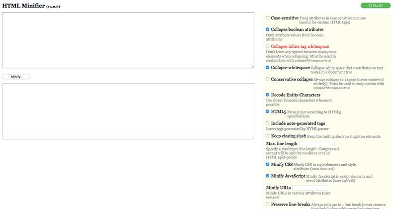 HTML Minifier
