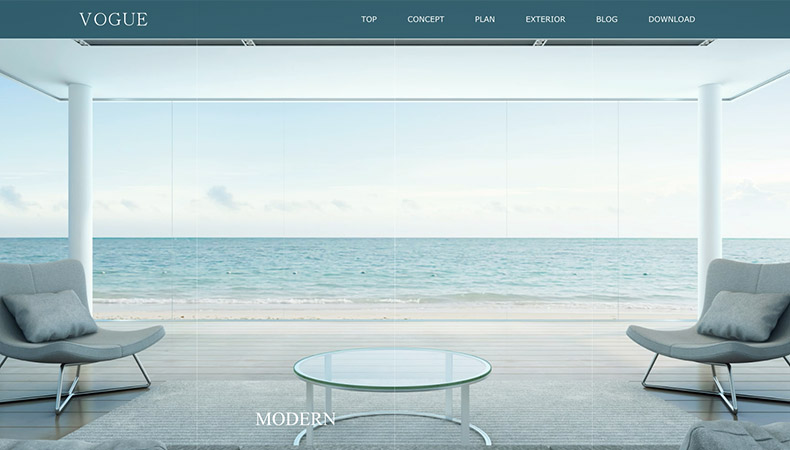 WordPress Theme VOGUE