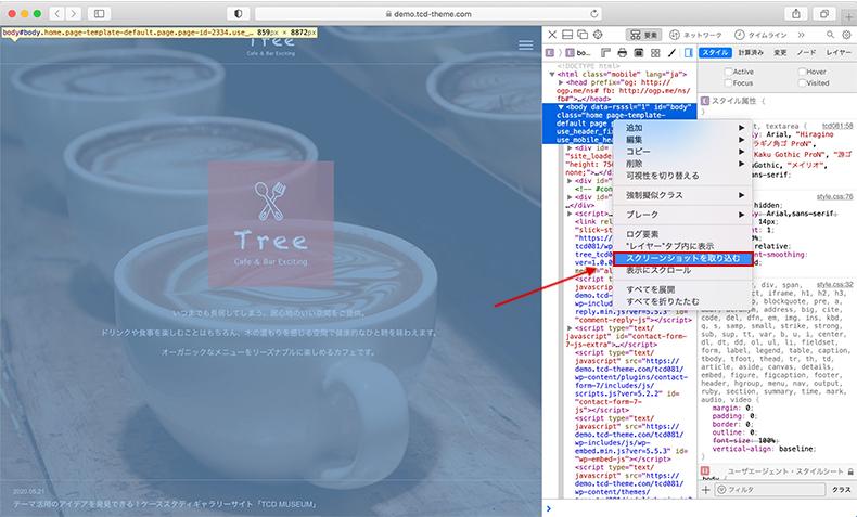 Safari開発者ツール