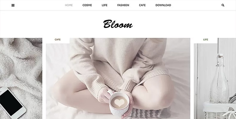 WordPress Theme Bloom