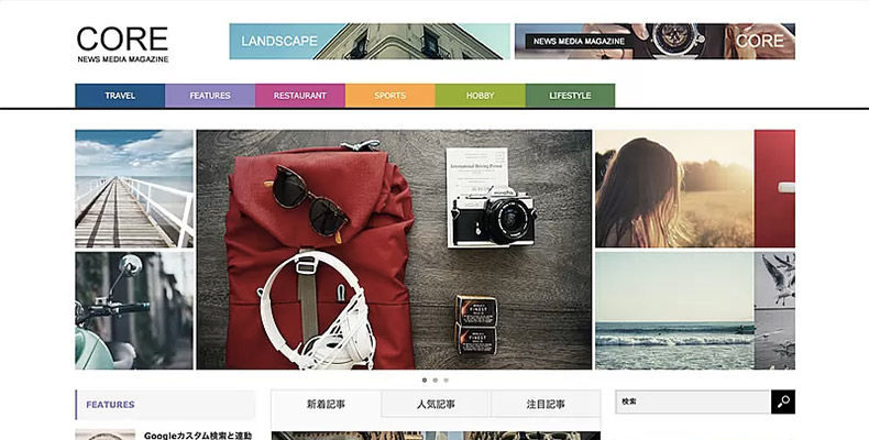 WordPress Theme CORE