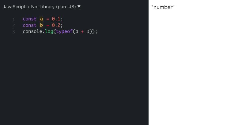 Javascript primitive