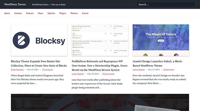 WordPress Tavern