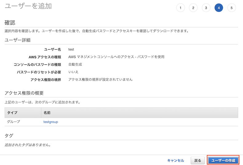 AWS Dashboard
