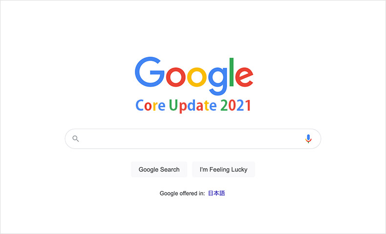 Google Core Update 2021